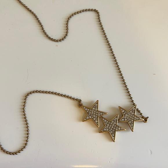 J. crew star necklace